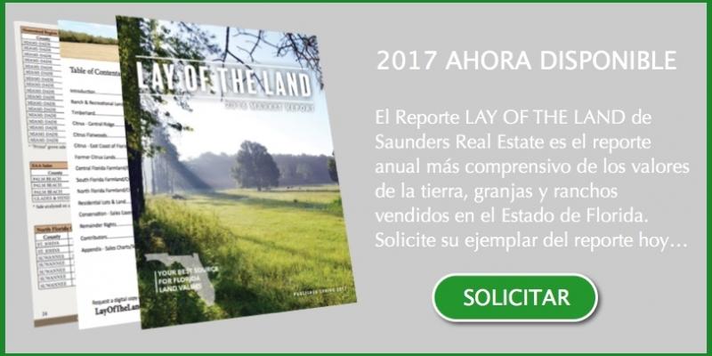 Reporte 2017 Valores Tierra Florida EEUU