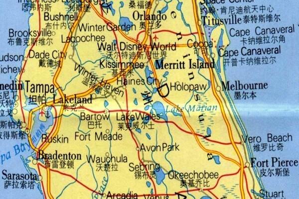 在佛罗里达州的中国购买房地产
