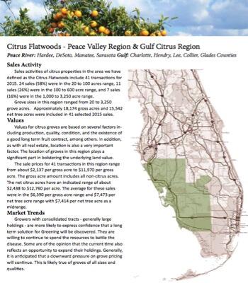 Florida Average Farmland Prices 2016