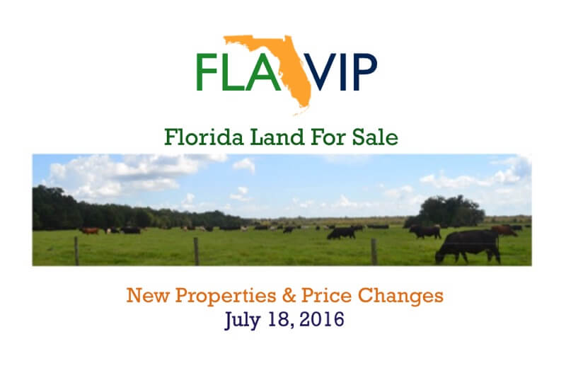 Florida Land For Sale July 2016