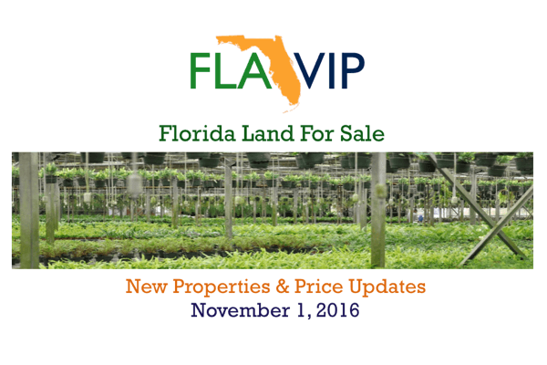 Florida Land For Sale 11.01.16