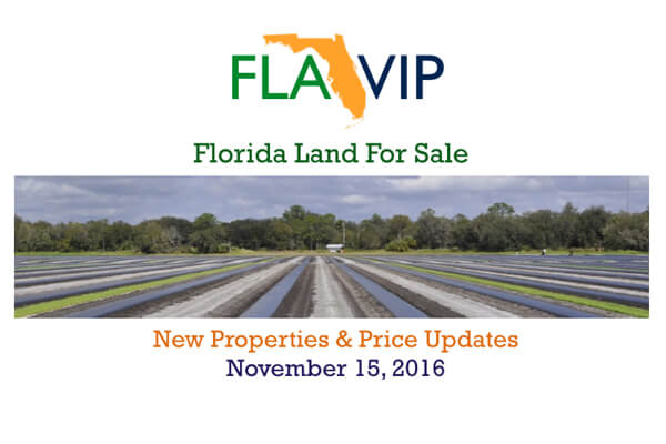 Florida Land For Sale 11.15.16