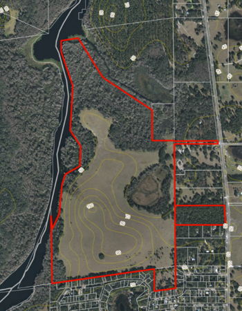 Land For Sale on Withlacoochee River