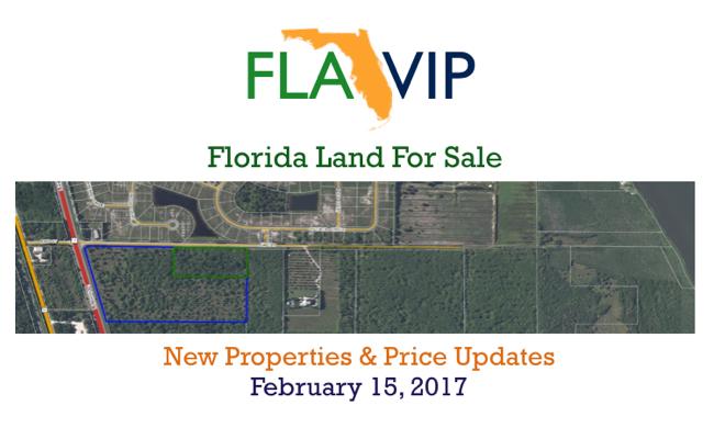 Florida terrain à vendre février 2017