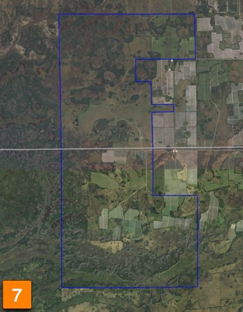 9,000 Acre Farm For Sale in Florida