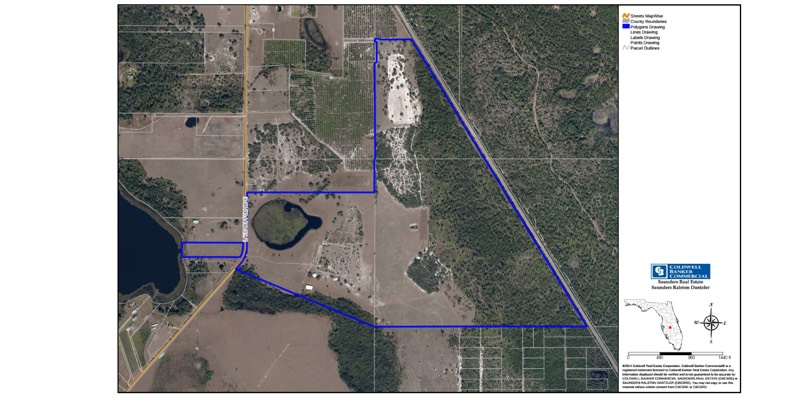 florida cattle ranch with home for sale