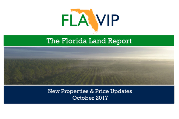 Florida Land For Sale October 2017