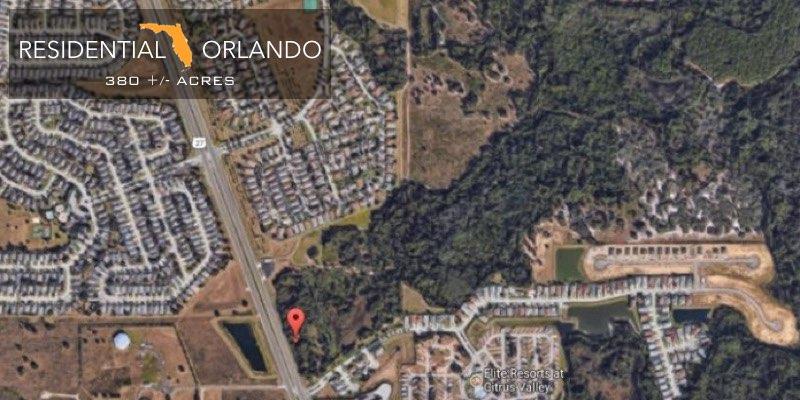 Residential Development Land Near Disney World