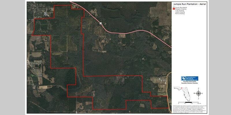 2,644 Acre Florida Timber Plantation For Sale