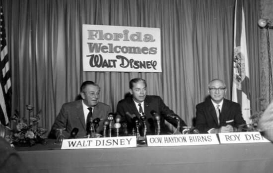 Walt Disney World Announcement