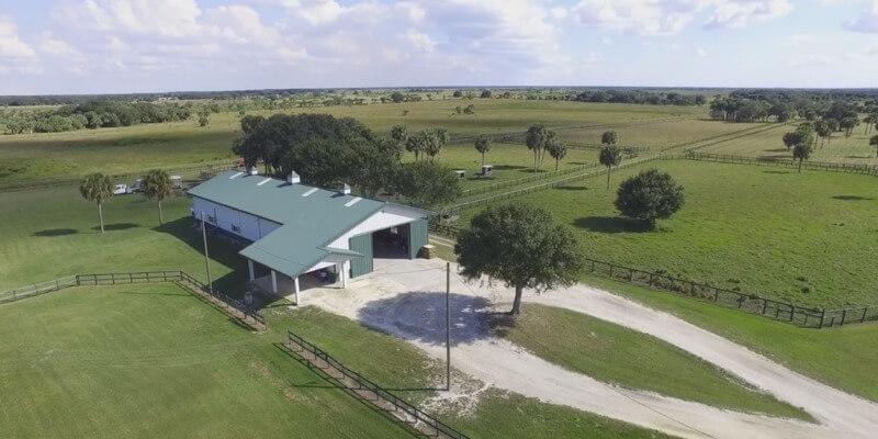 Rinderfarm zum Verkauf in USA
