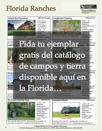 Catalogo Campos en Venta Florida EEUU