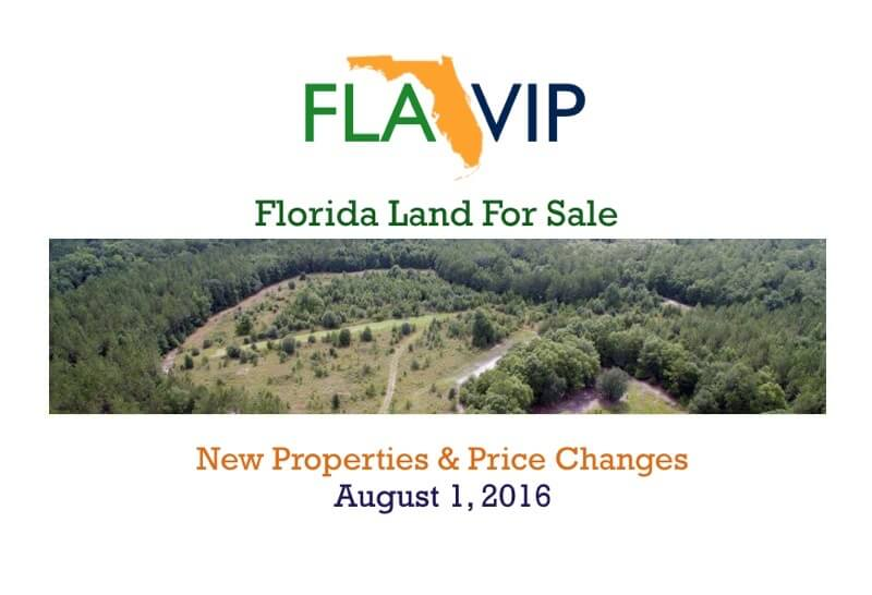 florida land for sale august 2016