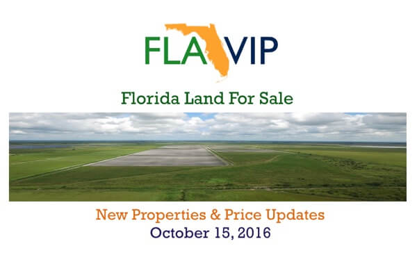 Florida Land For Sale 10-15-2016