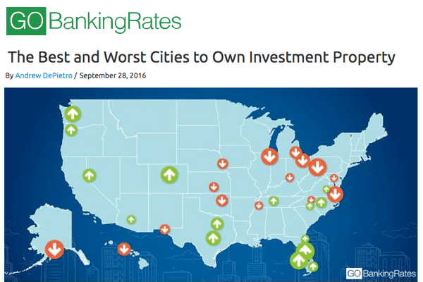best cities own investment property united states