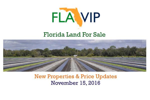 Флорида землі для продажу 11.15.16
