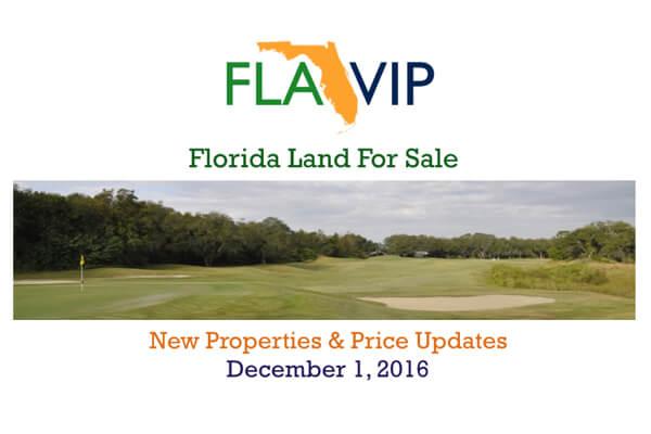 12.01.16 Florida Land For Sale