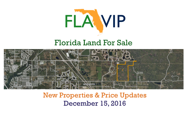 12.15.16 Florida Land For Sale