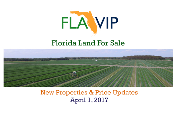 Florida Land For Sale April 2017