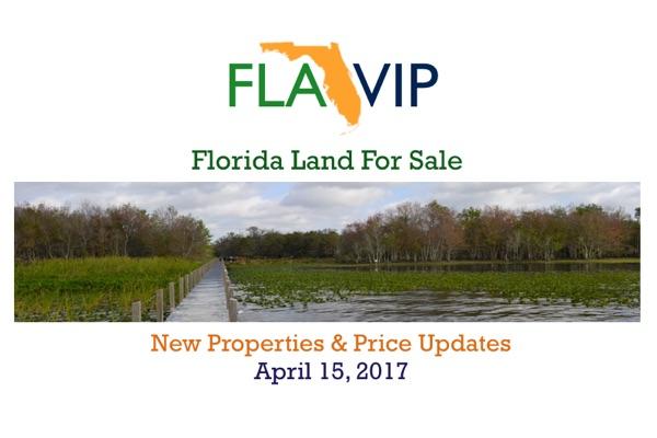 Florida Land For Sale April 15 2017