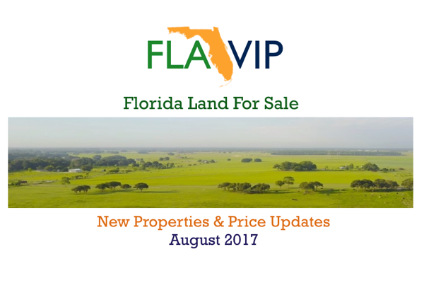 Florida Land For Sale August 2017