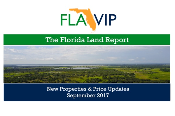 Land For Sale in Florida September 2017