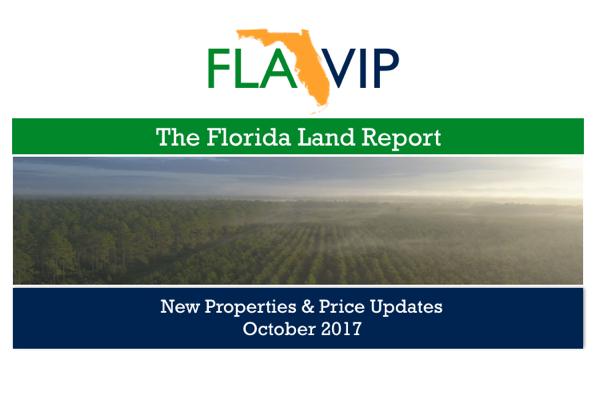 Florida Land For Sale October 2017
