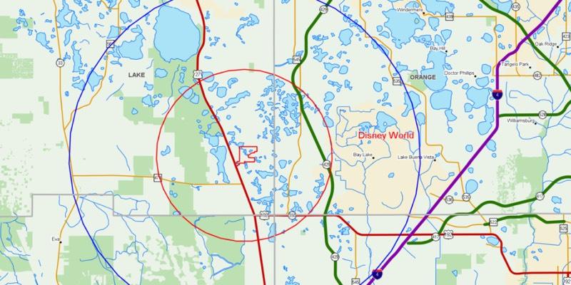 Land for Residential Development near Disney