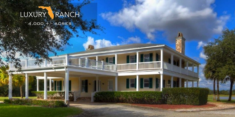 Florida Luxury Ranch For Sale