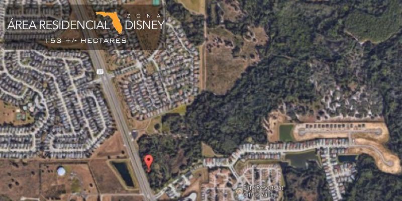 Area Residencial Venda perto Disney Florida EUA