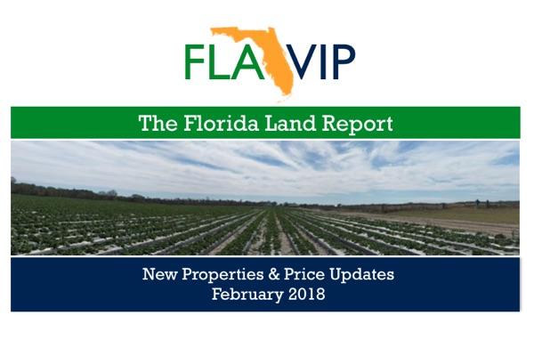 Florida đất báo cáo tháng 2018