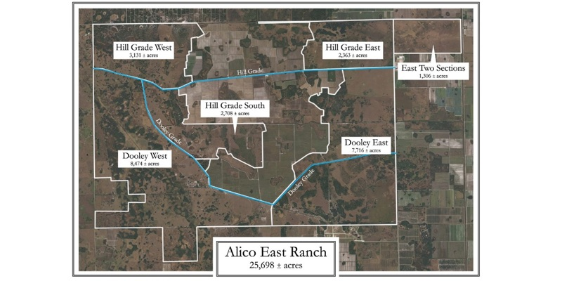 Alico East Ranch For Sale in Florida