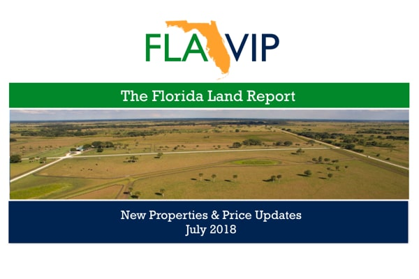 Florida Land For Sale Report July 2018