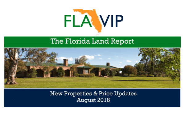 Florida Land For Sale August 2018