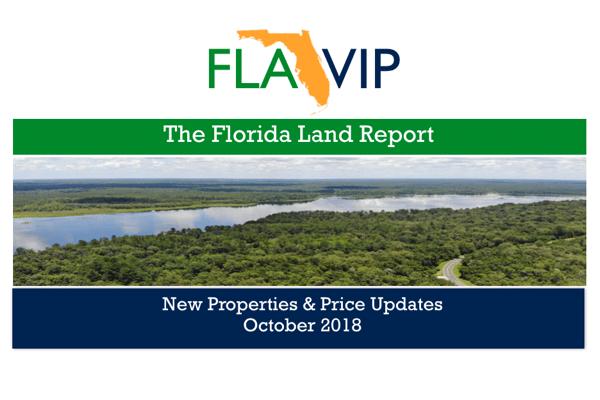 Florida Land For Sale October 2018