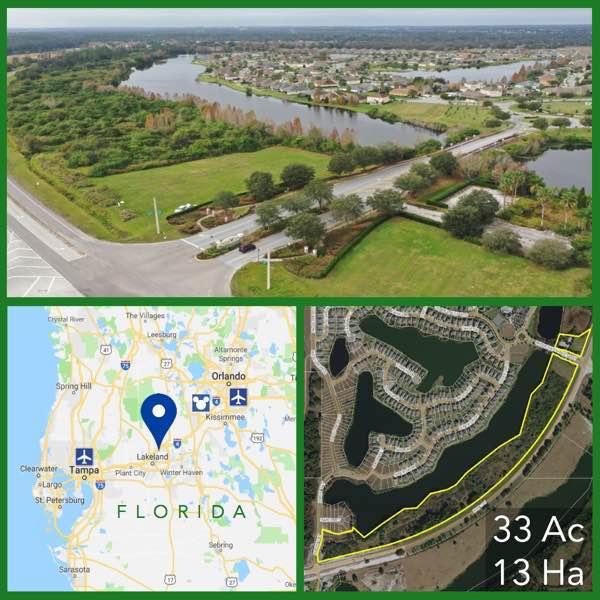 33 Acre Florida Development Land For Sale