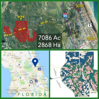 7086 Acre Florida Commercial Timberland For Sale