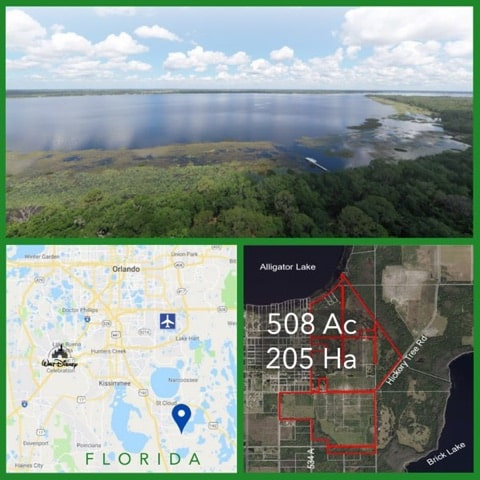 508 Acre Florida Waterfront Land For Sale