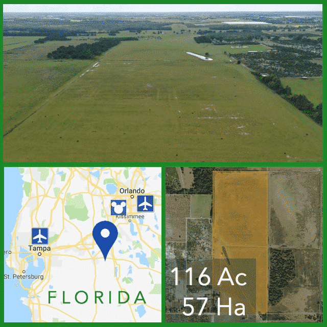 116 Acre Florida Cattle Pasture For Sale