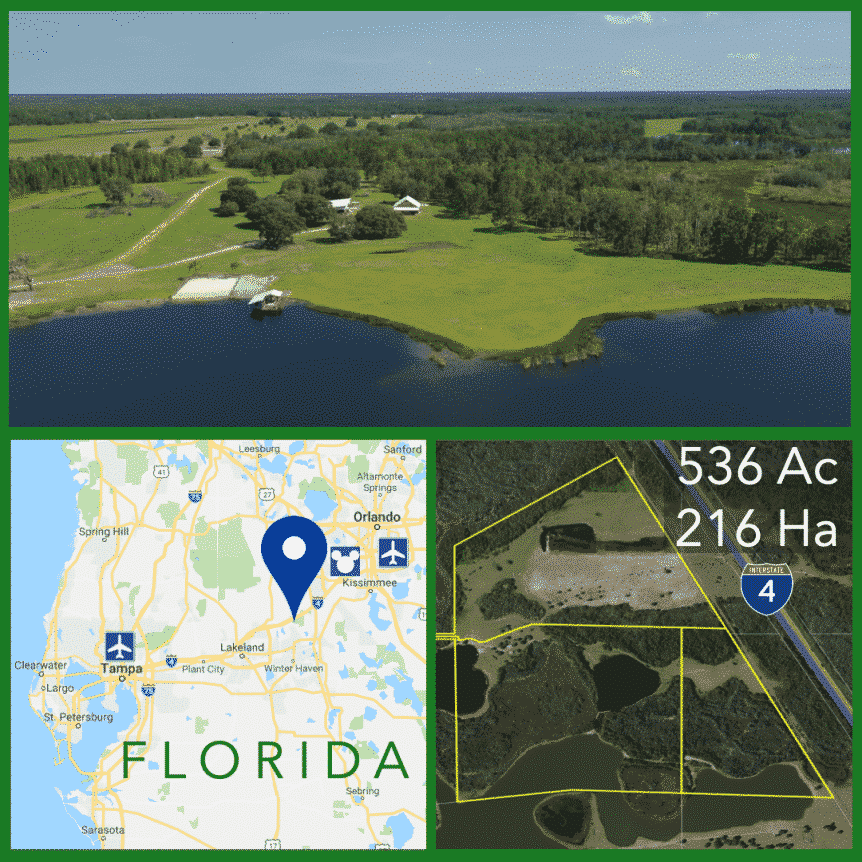 536 Acre Florida Sporting Ranch For Sale