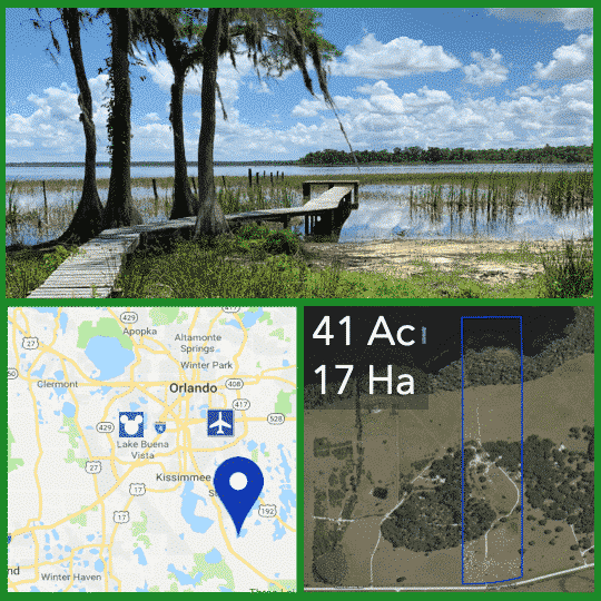 Lakefront Land For Sale Near Orlando